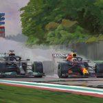 Max Verstappen wint Imola 2021 600px