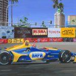 Alexander Rossi winnaar Indycar Long Beach 2018 600