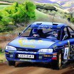 Colin McRae Subaru Impreza 555 1995 Toon Nagtegaal