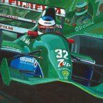 Debuut Schumacher 1991 Jordan 191 600px