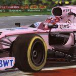Esteban Ocon Force India 2017