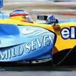 Fernando Alonso Renault 2005