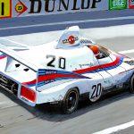 Gijs van Lennep Porsche 936 Le Mans 1976