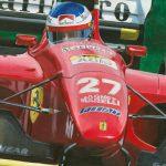 Jean Alesi Ferrari 412 T1 1994 FB