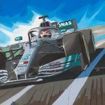 Lewis Hamilton Six Times World Champion 600px