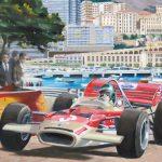 Monaco 1970 Jochen Rindt