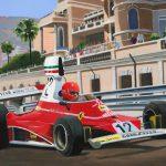 Monaco 1975 Niki Lauda