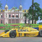 Monaco 1987 Senna