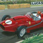 Peter Collins Ferrari 246 British GP 1958 600px