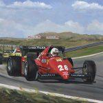 René Arnoux winner Dutch GP at Zandvoort 1983 600px