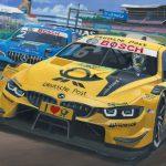 Timo Glock vs Gary Paffett DTM Hockenheim 2018