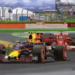 Verstappen vs Vettel op Silverstone 2017
