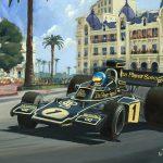 Winnaar GP Monaco 1974 Ronnie Peterson 600px