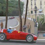 Winnaar GP van Monaco 1955 Maurice Trintignant 600px